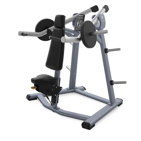 precor bench press precor discovery series plate loaded shoulder press
