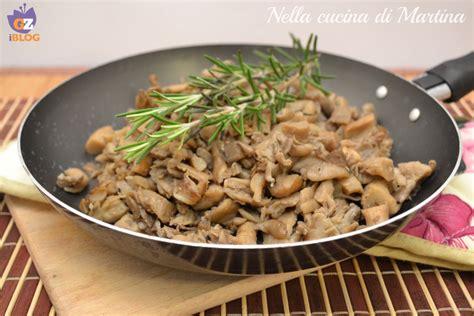 come cucinare i prataioli funghi in padella ricetta contorno