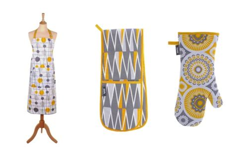 yellow and gray kitchen accessories this delightful combination of yellow and grey homeware