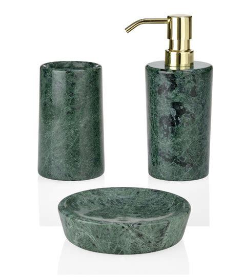 salle de bain bathroom accessories gobelet de salle de bain en marbre vert porte brosses 224