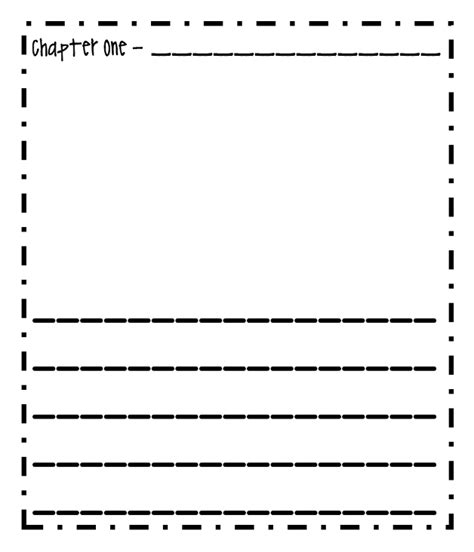create your own writing paper printable handwriting paper 1st grade non fiction