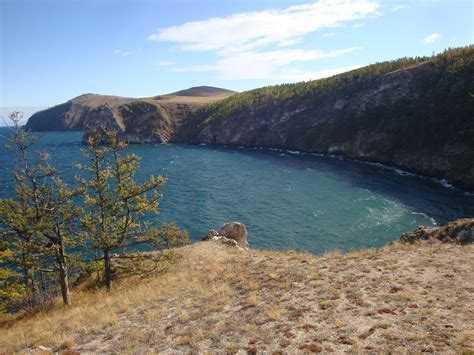 lake with an island mystery olkhon island lake baikal and mongolia endlesstravs
