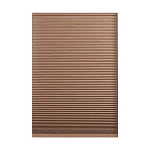 home depot cellular shades home decorators collection espresso hdc 23x72