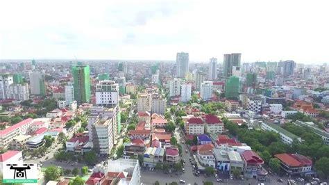 Phnom Penh Today by Phnom Penh Skyline Phnom Penh Today From Skyview Part