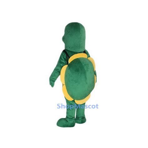 mascot fan system little green tortoise mascot costumes