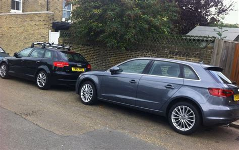 Audi Old Cars by Audi A3 Sportback Old And New Business Motoring