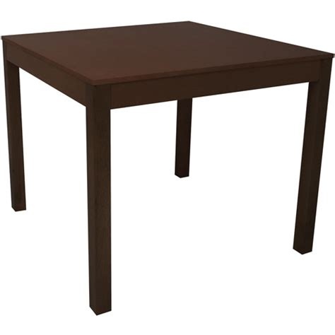 Dining Table Walmart Mainstays Parsons Dining Table Espresso Walmart