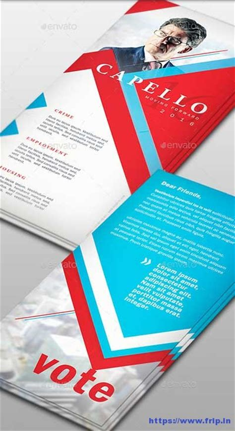 Palm Card Template Photoshop by 10 Best Political Palm Card Templates 2017 Frip In