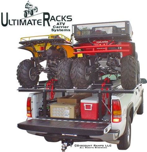 Truck Bed Rack For Atv by The Ultimate Rack Atv Truck Rack C Atv