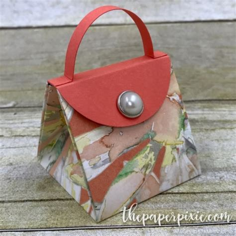 explosion box purse tutorial mini explosion purse with facebook live video tutorial