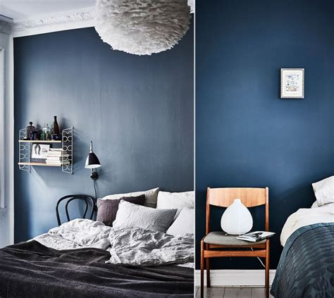 consigli  decorare la camera da letto  il blu