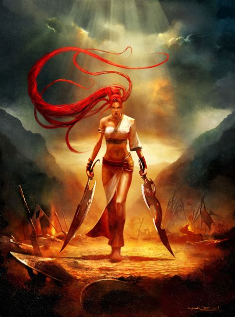 colourful art of dmc enslaved and heavenly sword