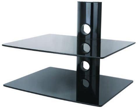 dvd player shelves duronic ds102bb 2 shelf glass dvd player shelf lifier
