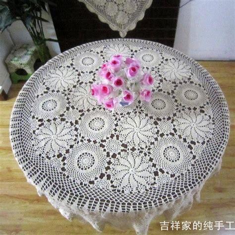 Renda Bunga By Al achetez en gros crochet nappe ronde en ligne 224 des