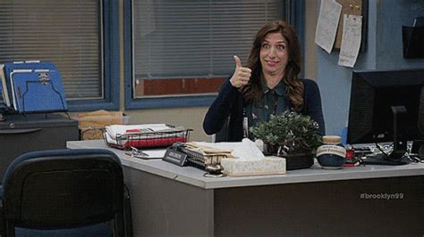 chelsea peretti yoga in character gina linetti of a kind