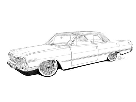 coloring pages lowrider cars lowrider coloring pages coloring home