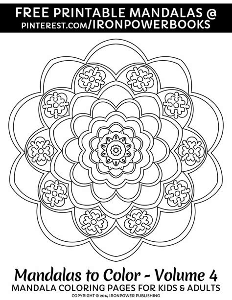 mandala coloring book color me now 233 best printable coloring pages images on