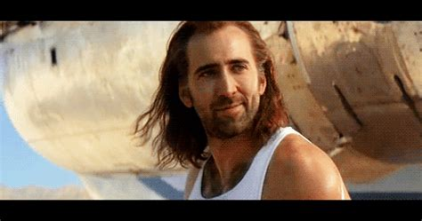 Conair Hair Dryer Nicolas Cage 5 second gif find on giphy
