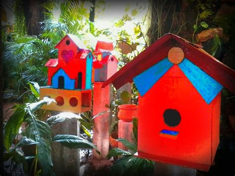 colorful bird houses my colorful bird houses my projects