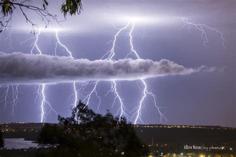wallpaper landscape night sky lightning storm