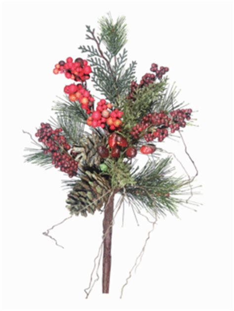 christmas pine spray