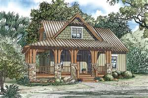 Craftsman Cabin by Silvercrest Craftsman Cabin Home Plan 055d 0891 House