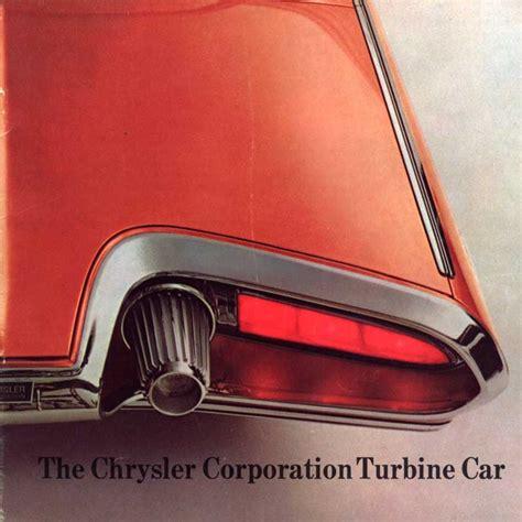 dean chrysler chrysler turbine car dean s garage