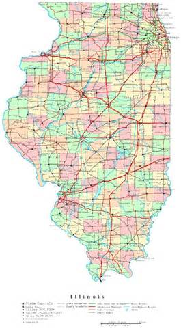 county map printable illinois printable map