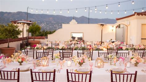 Wedding Venues Santa Barbara by Santa Barbara Wedding Venues Kimpton Canary Hotel