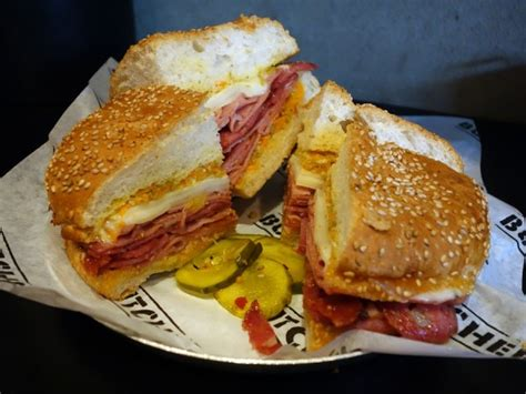Wich Of The Week Muffaletta by Writing On In The City Of New Orleans Gastrolust