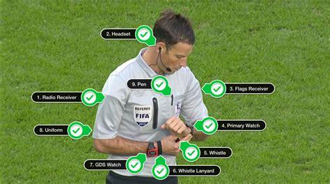 equipamiento de futbol sala accesorios para el equipamiento del 225 rbitro 193 rbitros de