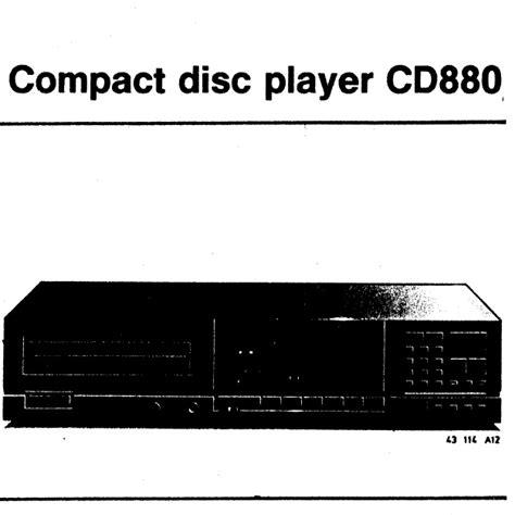 lade philips philips cd880 lade snaar mfbfreaks