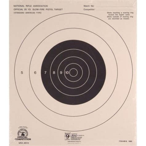 printable 500 yard targets 25 yard printable sighting targets images frompo