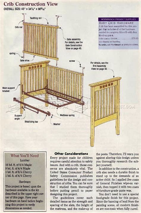 book of crib woodworking plans in germany by egorlin