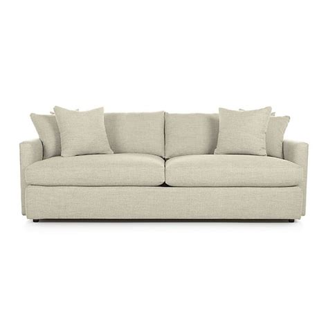 Crate And Barrel Lounge by Lounge Ii 93 Quot Sofa Cement Crate And Barrel