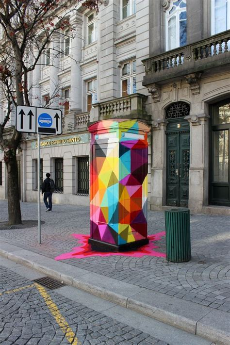 geometric design criteria for urban streets colorful geometric street art porto street art and portugal