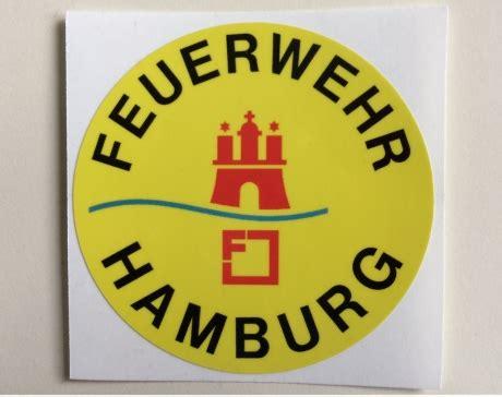Aufkleber Feuerwehr Klein by Aufkleber Feuerwehr Hamburg 10611