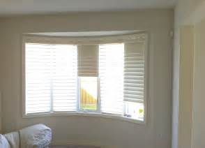bow window blinds solution trendy blinds use bow window treatments to improve home ambience