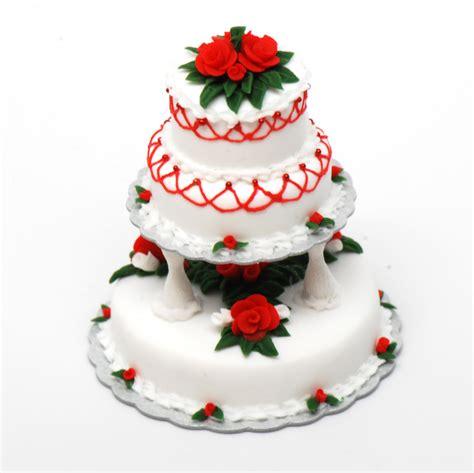 Home Interior Catalog 3 Tier Christmas Wedding Cake Stewart Dollhouse Creations
