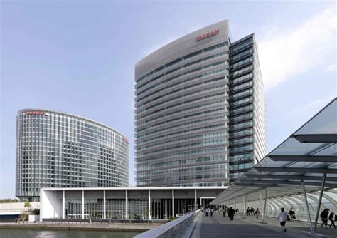 nissan global headquarters japan sustainable building