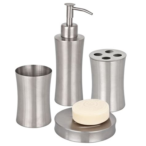 bathroom accessories stainless steel stainless steel bathroom accessories 10 bath decors