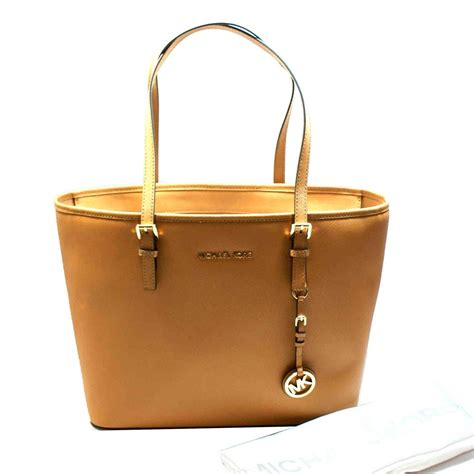 Michael Kors Jet Set Small Travel Tote Peanut #30S4GTVT2L