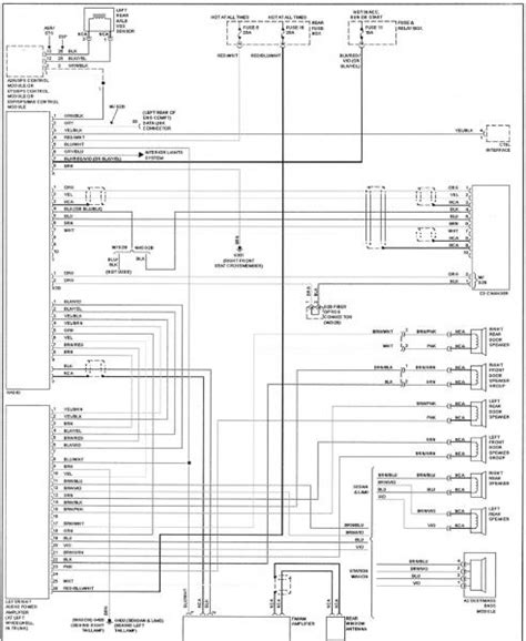 sound system wiring diagram w210 w124 wiring diagram