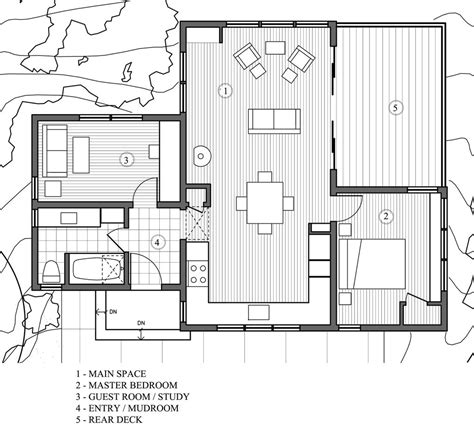houses plans modern style house plan 2 beds 1 baths 840 sq ft plan 891 3 floor plan floor plan