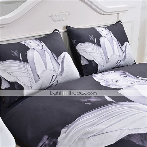 marilyn monroe comforter sets marilyn monroe duvet cover set white and black bedding set