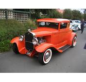 Ford Model A Coupe Hot Rod  Cars Pinterest