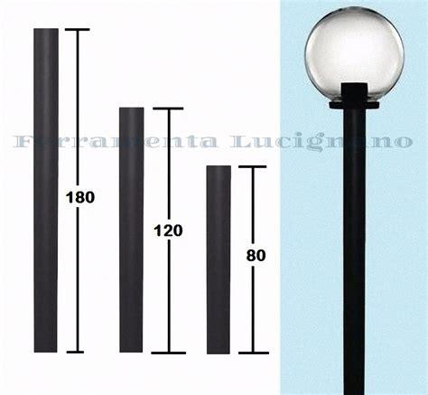 paletti illuminazione esterna palo pali in pvc 248 60mm per lione lioni sfere