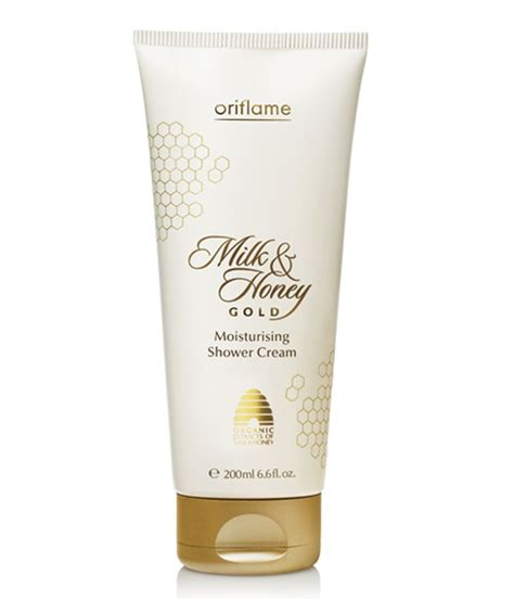 Oriflame Milk Honey Gold Moisturising Shower 31605 oriflame milk and honey gold moisturising shower 200gm buy oriflame milk and honey gold