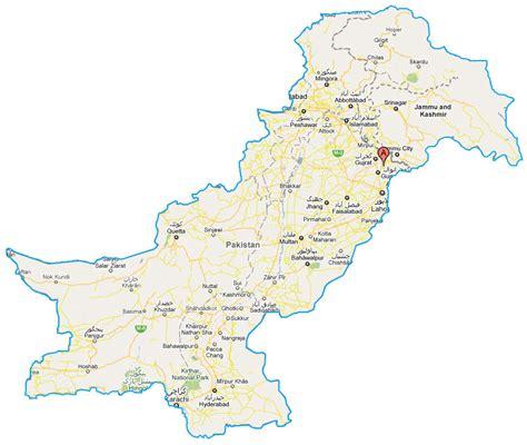 map of pakistan descriptive maps of pakistan pakistan 360 degrees