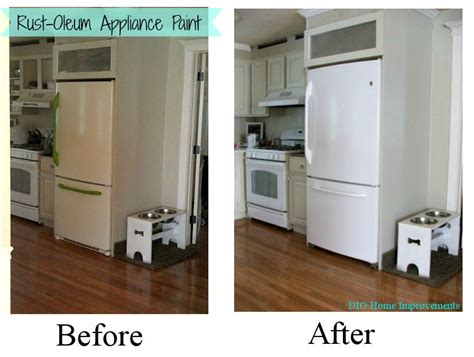 paint kitchen appliances painting an appliance dio home improvements
